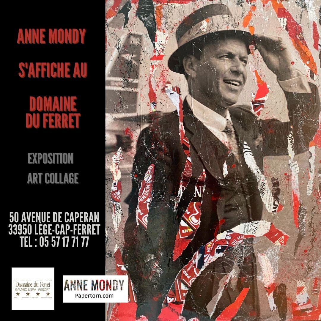 NOUVELLE EXPOSITION . «ANNE MONDY S'AFFICHE AU DOMAINE DU FERRET «